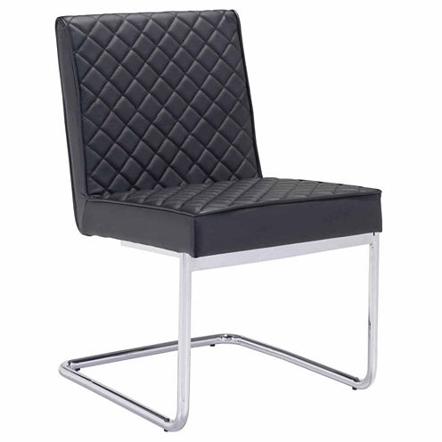 Zuo Modern Quilt Armless 2-pc. Side Chair