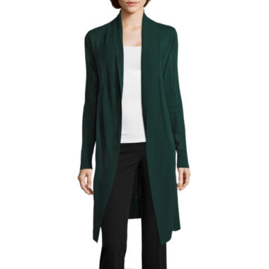 jcpenney.com | Worthington Long Sleeve Cardigan