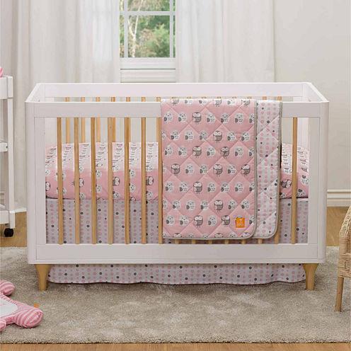 Living Textiles Mod Crib Bedding Set