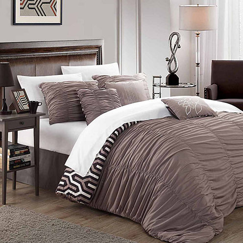 Chic Home Elissa 7-pc. Duvet Cover Set