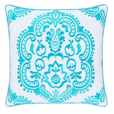 Queen Street Juniper Square Throw Pillow