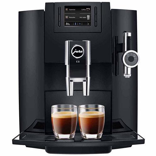 JURA® E8 Black Automatic Coffee Machine