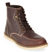 St. John's Bay® Drift Mens Leather Lace-Up Boots