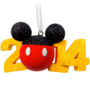 Disney Mickey Mouse 2014 Ornament