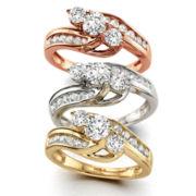 Love Lives Forever™ 1 CT. T.W. Diamond 10K Gold Ring
