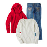 Arizona Thermal Tee, Hooded Sweater or Bootcut Jeans - Girls