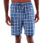 Stafford® Woven Pajama Shorts–Big & Tall