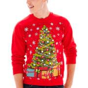 Christmas Tree Fleece Sweatshirt