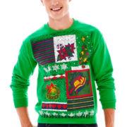 Squared Off Fleece Sweatshirt