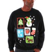 Love Christmas Fleece Sweatshirt