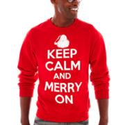 Merry On Fleece Sweatshirt