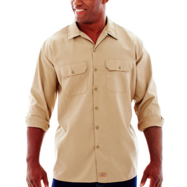 jcpenney.com | Dickies® Long-Sleeve Work Shirt - Big & Tall