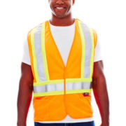 Work King Traffic Safety Vest-Big & Tall