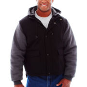 Tough Duck Work Jacket w/Zip-Off Sleeves–Big & Tall
