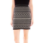 Joe Fresh™ Geo-Pattern Skirt
