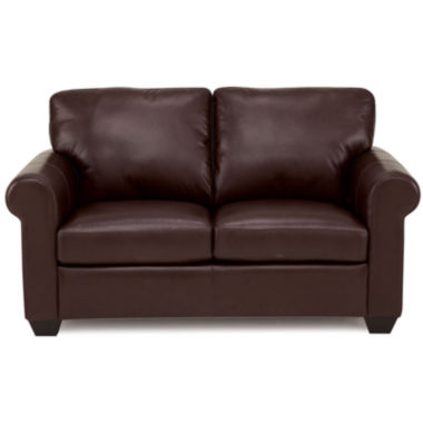 jcpenney.com | Leather Possibilities Roll-Arm Loveseat
