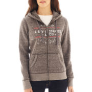 Levi's® Zip Front Graphic Hoodie