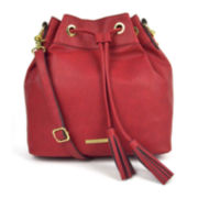 Liz Claiborne Crossbody Bucket Bag