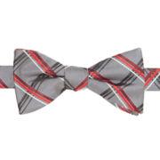 JF J. Ferrar® Nova Plaid Pre-Tied Bow Tie