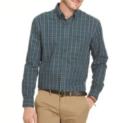 Arrow® Long-Sleeve Tartan Plaid Shirt