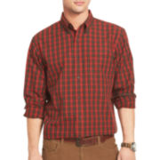 Arrow® Long-Sleeve Tartan Plaid Shirt