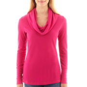 a.n.a® Long-Sleeve Cowlneck Thermal Top