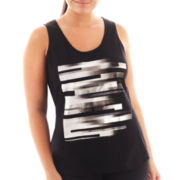 Xersion™ Graphic Print Tank Top - Plus