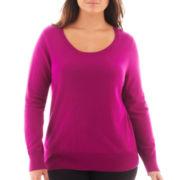 Worthington® Crewneck Pullover Sweater