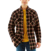 Ely Cattleman® Quilted Flannel Shirt Jacket
