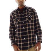 Ely Cattleman® Western Flannel Snap Shirt