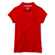 IZOD® Pique Polo Shirt - Girls 4-18 and Girls Plus