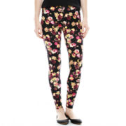 Mixit™ Floral Knit Leggings