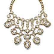 Natasha Rhinestone Statement Necklace
