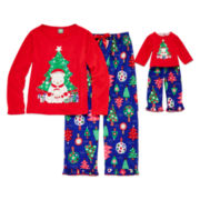 Dollie & Me Polar Bear Pajama Set - Girls 4-14