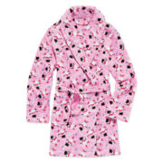 Sleep On It Fleece Snowman Robe - Girls 7-16