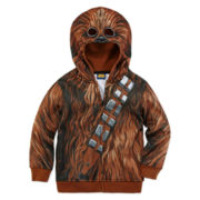 Star Wars™ Chewbacca Fleece Costume Hoodie - Preschool Boys 4-7