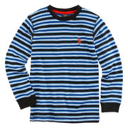 U.S. Polo Assn.® Striped Thermal Shirt - Preschool Boys 4-7