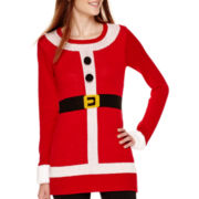 Ransom Long-Sleeve Holiday Tunic Sweater