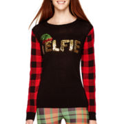 Self Esteem® Long-Sleeve Christmas Sweater