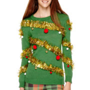 Ransom Girl™ Long-Sleeve Holiday Sweater