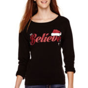 Long-Sleeve Christmas Sweatshirt