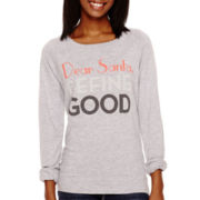 Long-Sleeve Holiday Sweatshirt