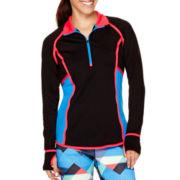 Xersion™ Colorblock Taped Half-Zip Pullover