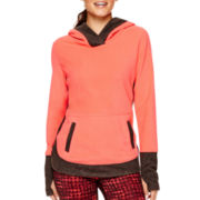 Xersion™ Polar Fleece Crossover Hoodie - Tall