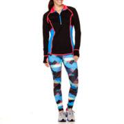 Xersion™ Colorblock Taped Pullover or Print-Block Leggings