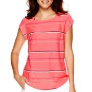 Stylus™ Short-Sleeve Woven Blouse