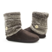 MUK LUKS® Womens Legwarmer Boot Slippers