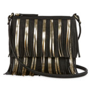 Fringe Crossbody Bag - One Size