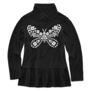 Arizona Shawl-Collar Top - Preschool Girls 4-6x