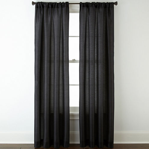 Studio™ Mercer Rod-Pocket/Back-Tab Curtain Panel